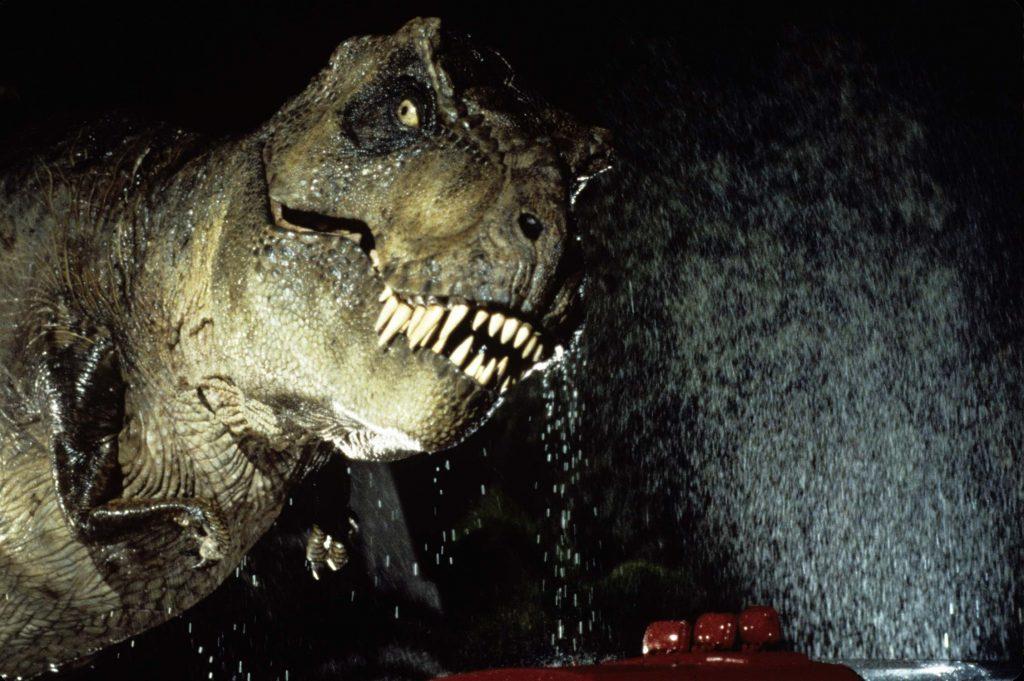 Dinosaurs in Jurassic Park