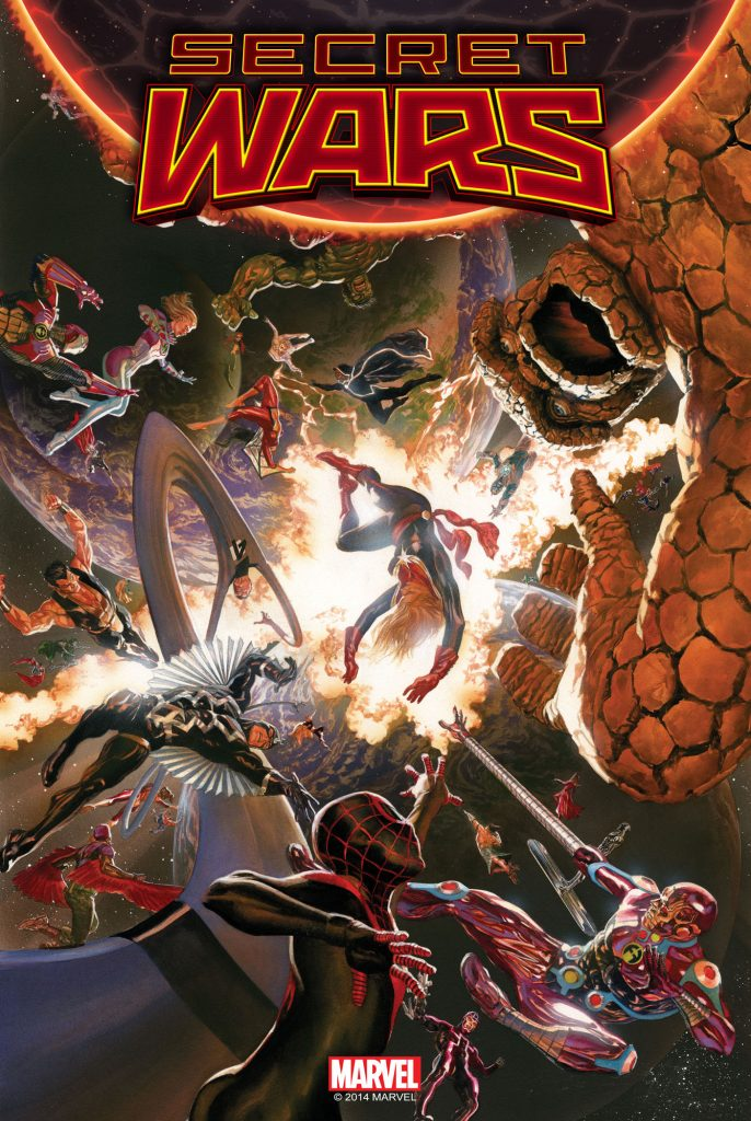 Secret Wars #1 Cover
