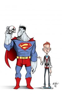 Bizarro and Jimmy Hamlet