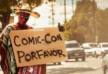 Deadpool Hitching Ride To Comic-Con