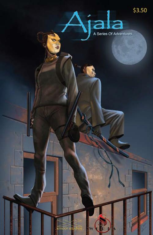 Cover of Ajala #1 by N. Steven Harris