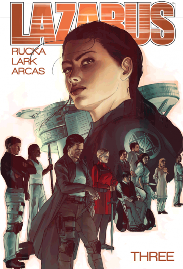 cover of Lazarus: Volume 3