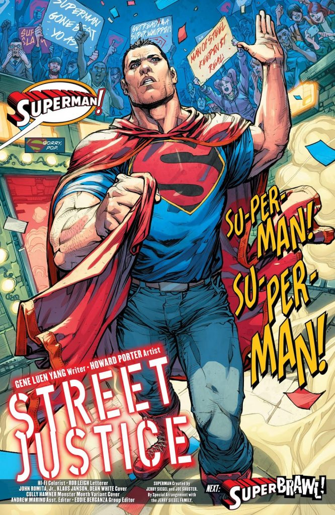 Credit: Superman by DC Comics