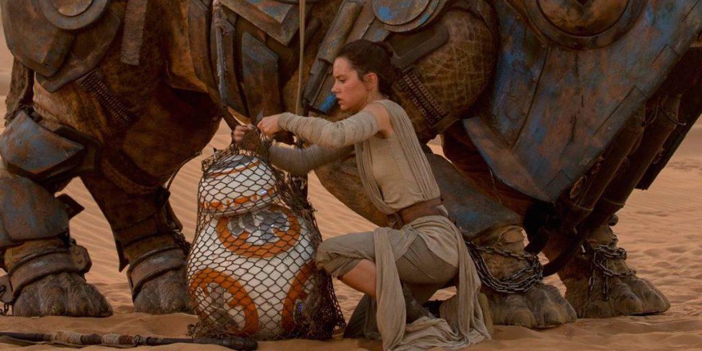 Rey, Star Wars, The Force Awakens, Star Wars Episode VII, Rey, BB8, Droid