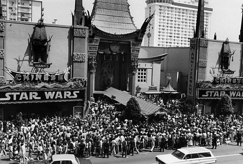 Original Star Wars Opening Night