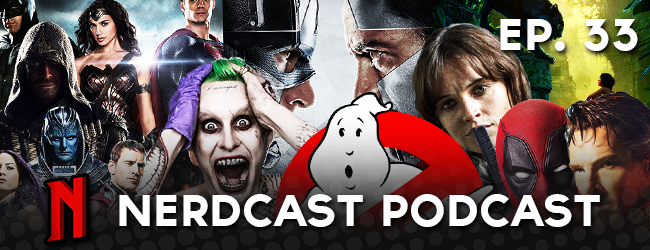Nerdcast Podcast: Episode 33 (2016 Preview)