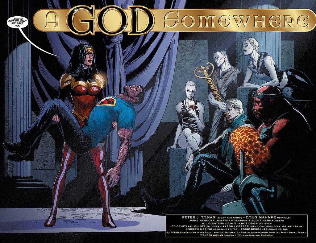 Superman/Wonder Woman #25