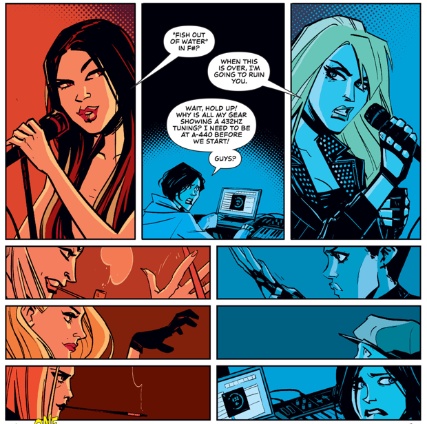 From Black Canary #6 by Annie Wu