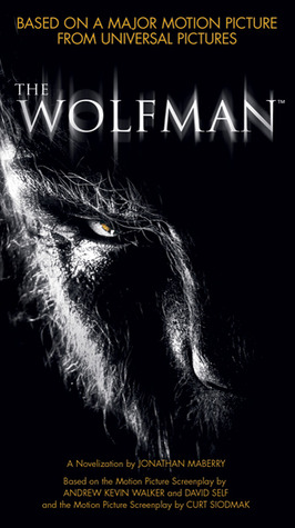 Jonathan Mabery novelization of The Wolfman