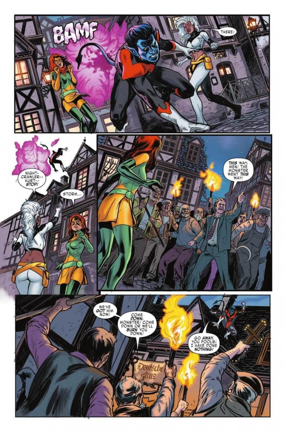 Extraordinary X-Men #7 with Nightcrawler, Jean Grey, and Storm