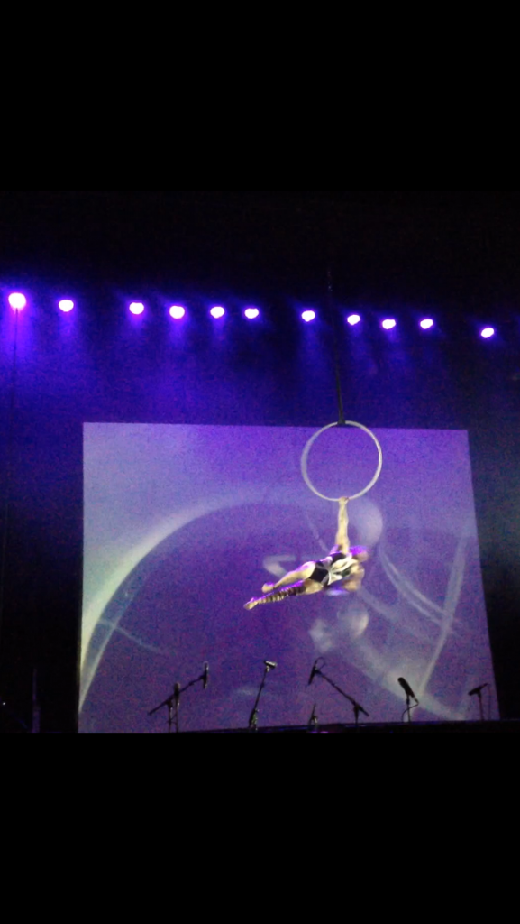 Edwardian Ball hoop dancer