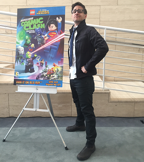 Yuri Lowenthal at the LEGO DC Comics Super Heroes premiere