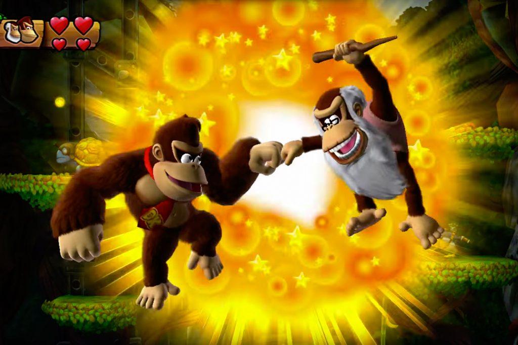 Credit: Nintendo Donkey & Old Cranky Kong