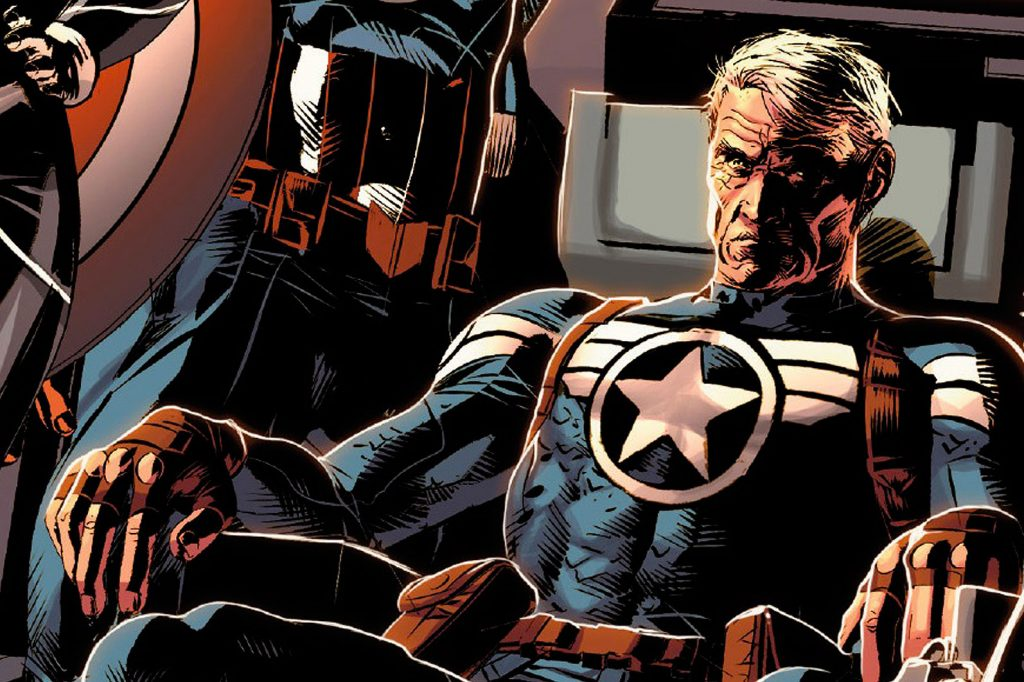 Credit: Marvel Comics Old Commander Steve Rogers