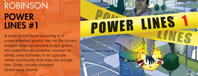 Review: Power Lines Issue #1