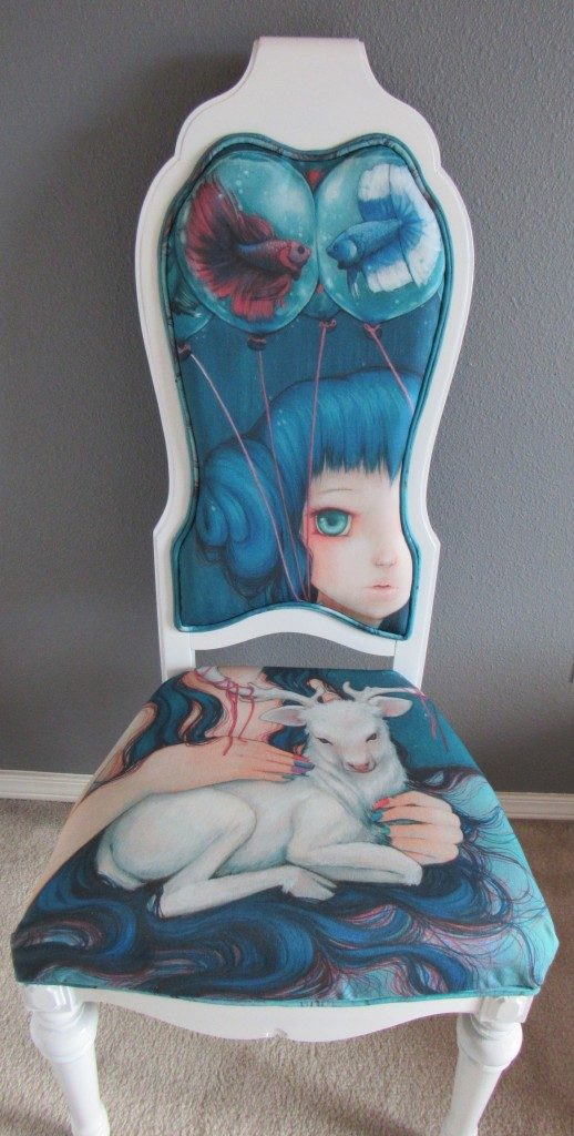 UnpredictableGravityChair featuring art by Camilla d'Errico