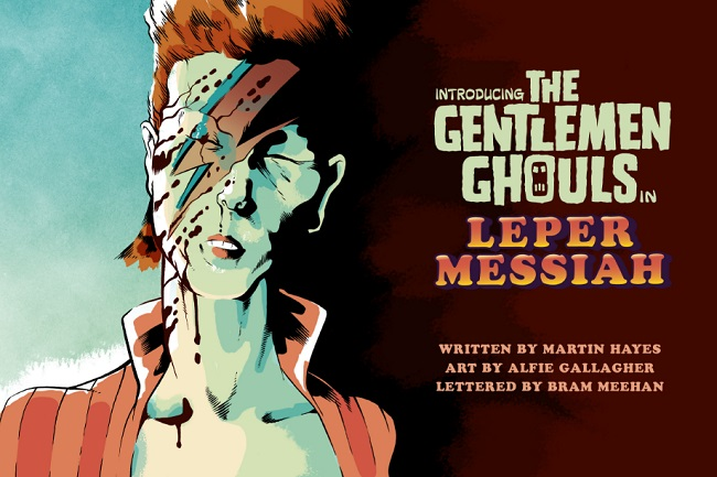 Leper Messiah title page