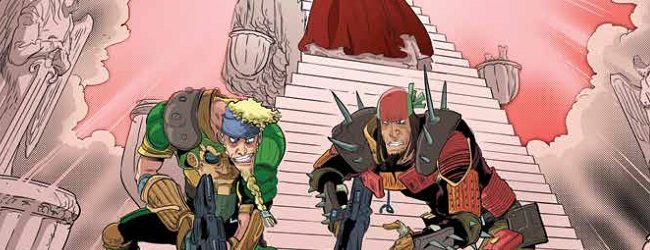 Review: Bill And Ted Go To Hell #4