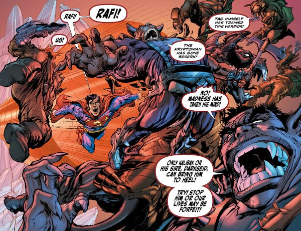 Superman: The Coming of the Supermen #5