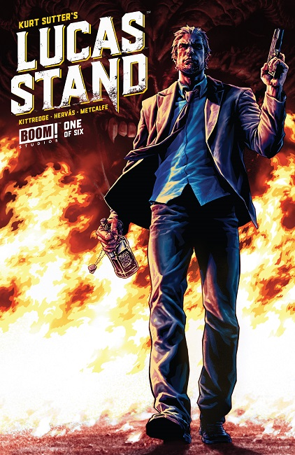 Lucas Stand #1 cover