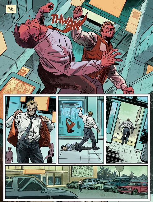 Lucas Stand #1 interior Art