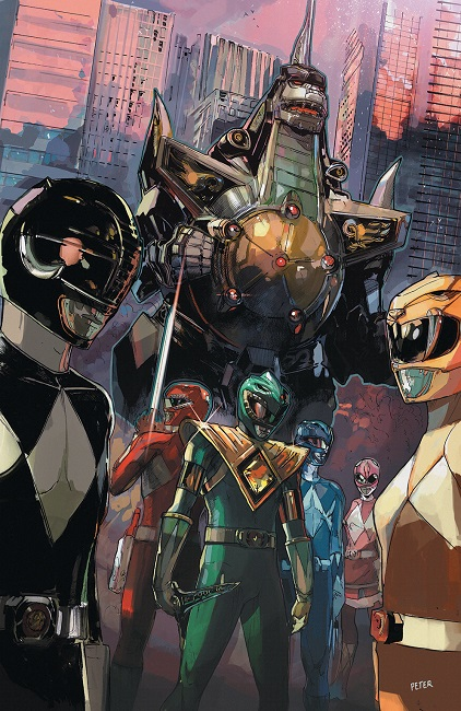 Mighty Morphin Power Rangers 4 Variant Cover