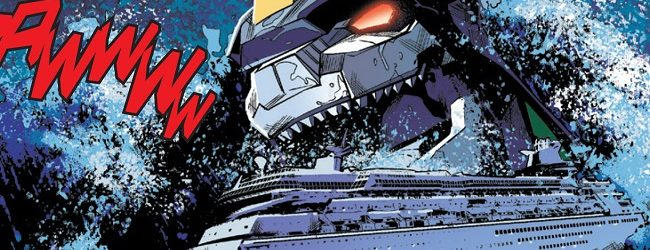 Review: Mighty Morphin Power Rangers #4