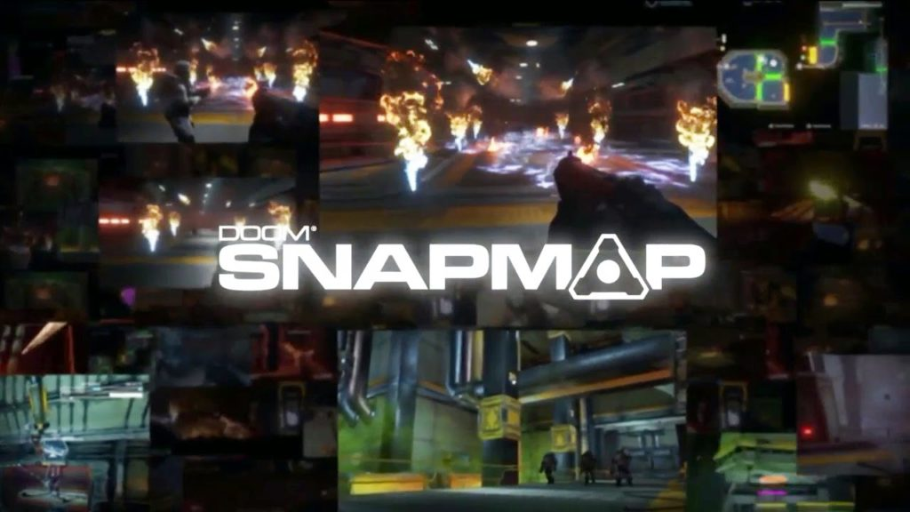 Doom Snap Map