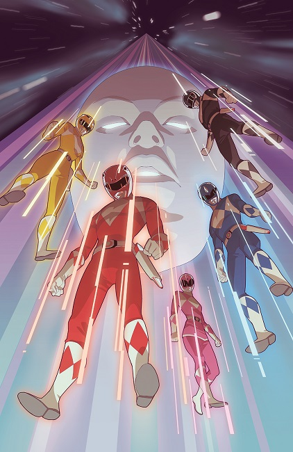 Mighty Morphin Power Rangers 2016 Annual cover art
