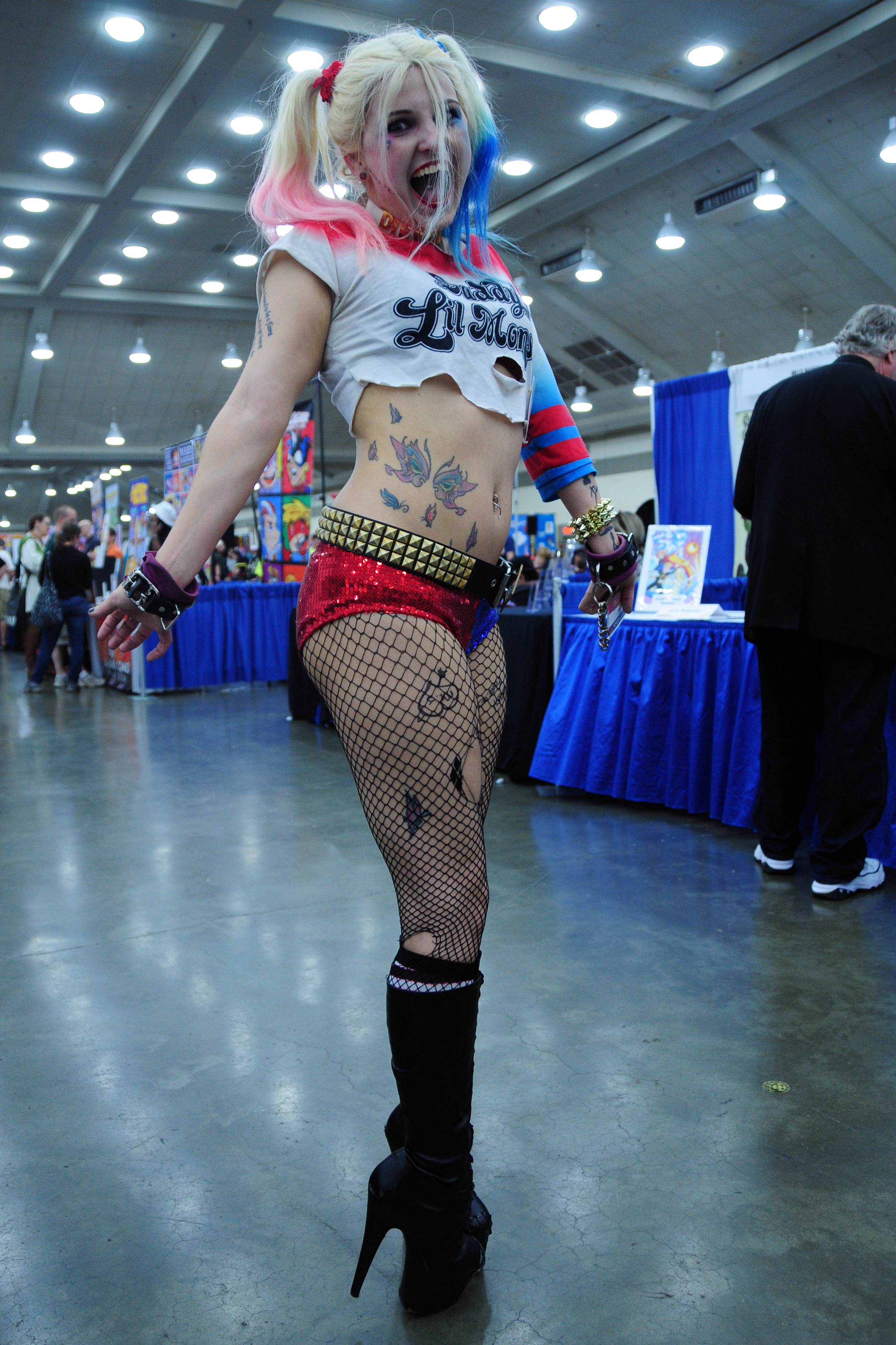 Harley Quinn Cosplay Suicide Squad Baltimore Comic Con BCC