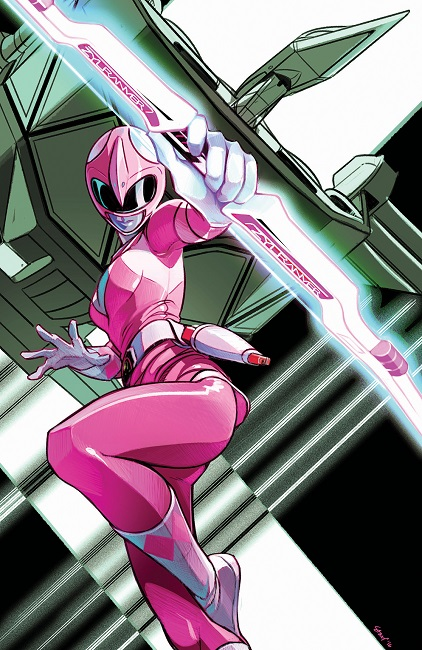 MMPR: Pink #3 variant cover