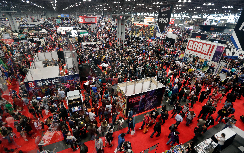 New York Comic Con NYCC Main Floor