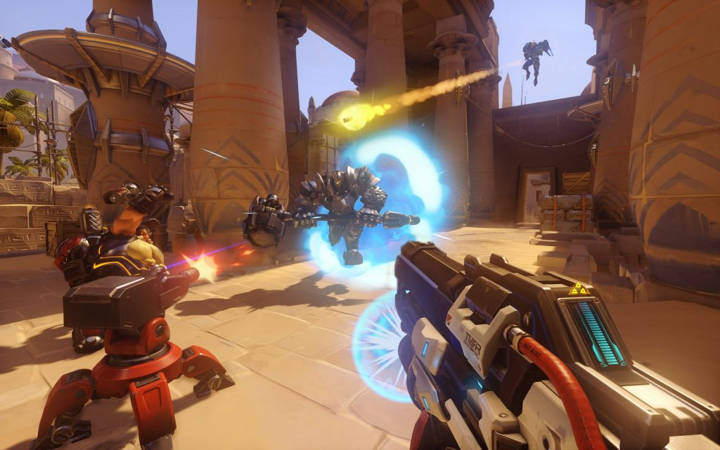 Overwatch fight at Temple of Anubis