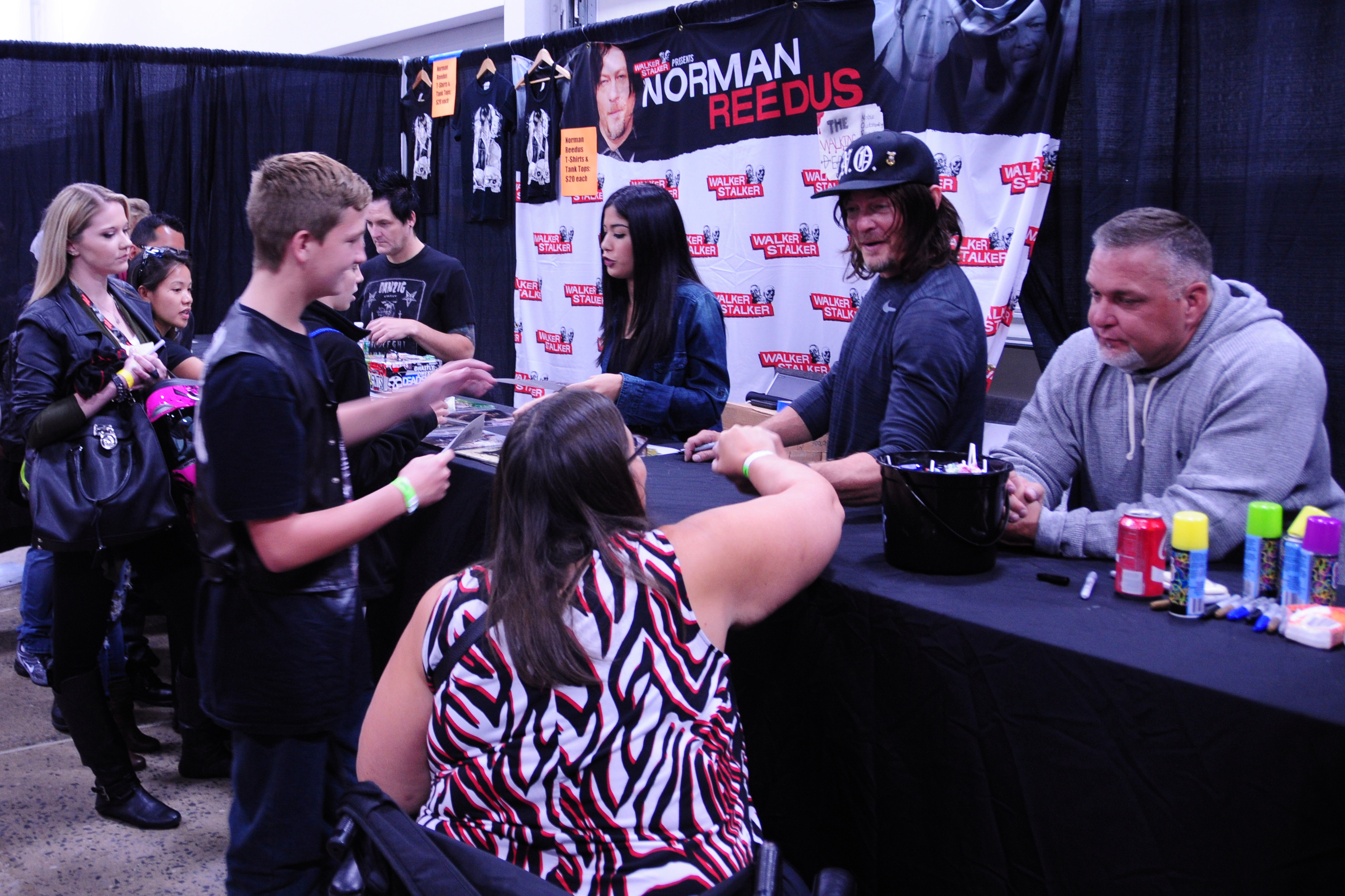 Walker Stalker Con WSC The Walking Dead Norman Reedus Daryl Dixon
