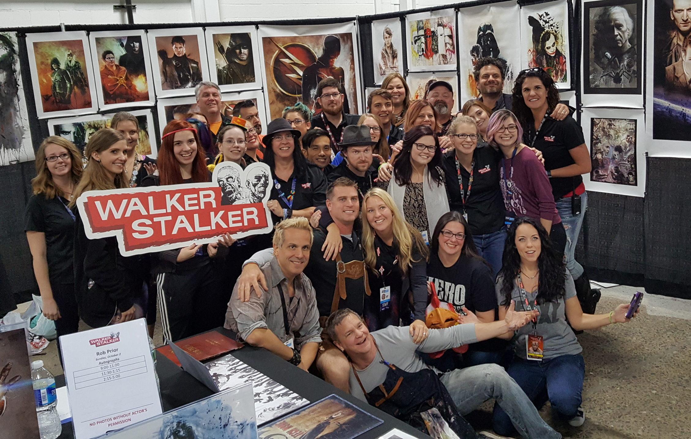 Walker Stalker Con WSC Walking Dead Zombies