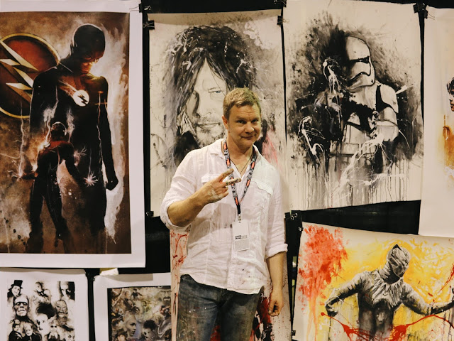 Rob Prior Artist Comic Conventions