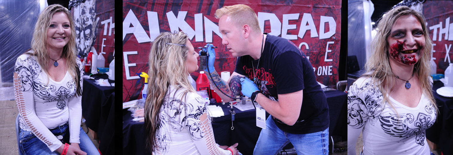 Walker Stalker Con WSC Walking Dead Zombie