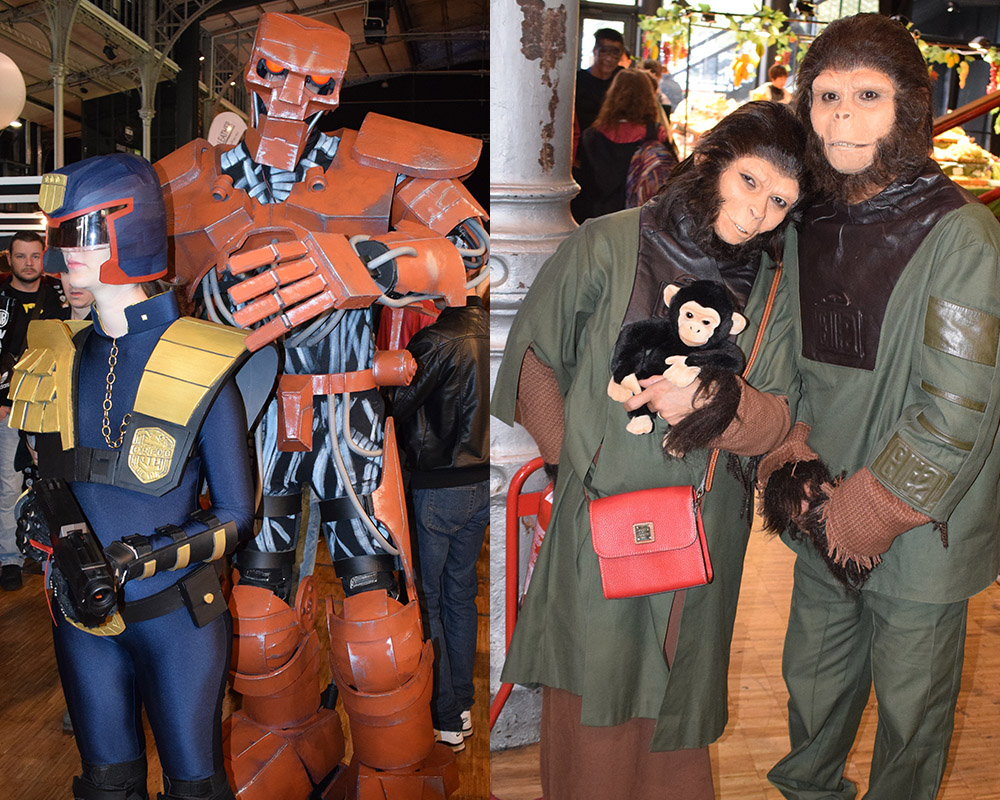 Cosplayers at Paris Comic Con. Credit : Elodie Cure