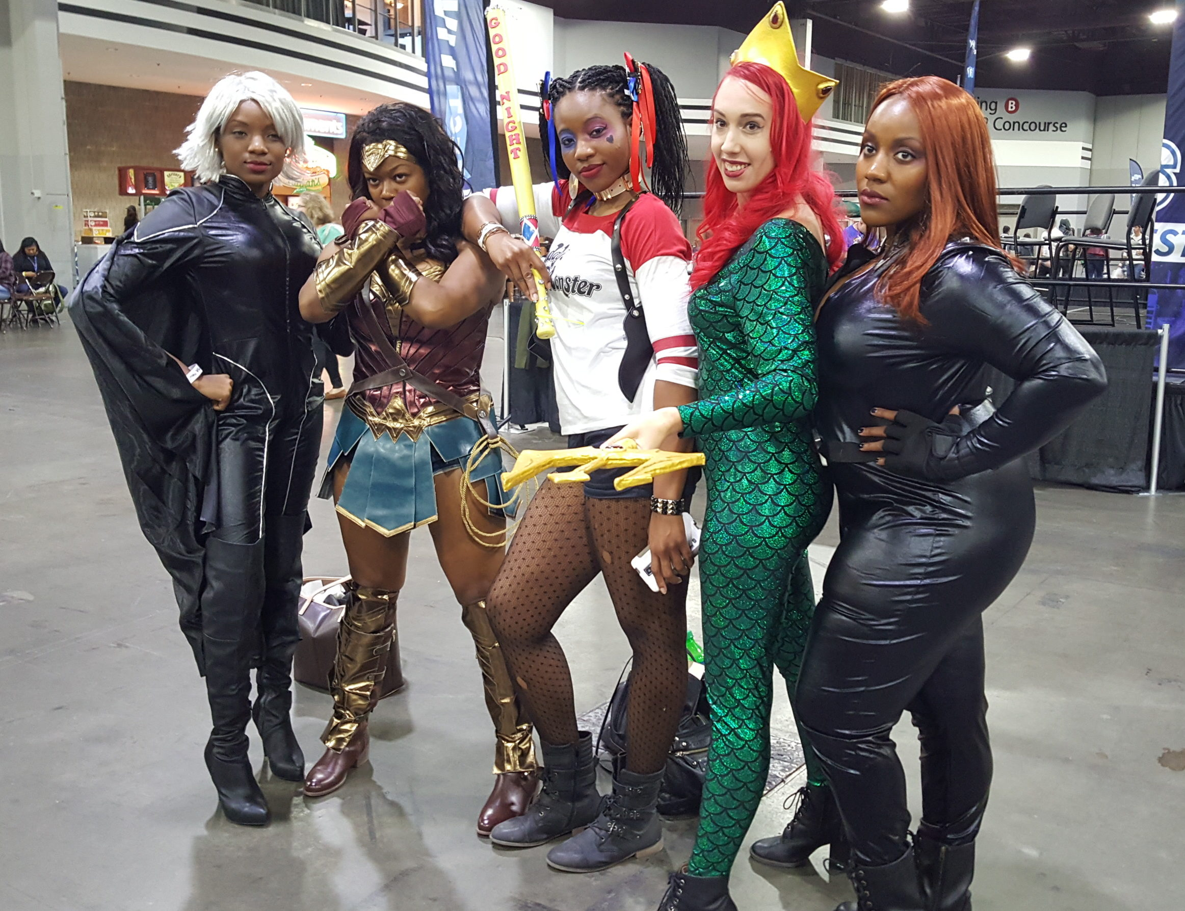 heroes and villains fan fest a fabulous finale  heroes and villains fan fest hvf atlanta cosplay
