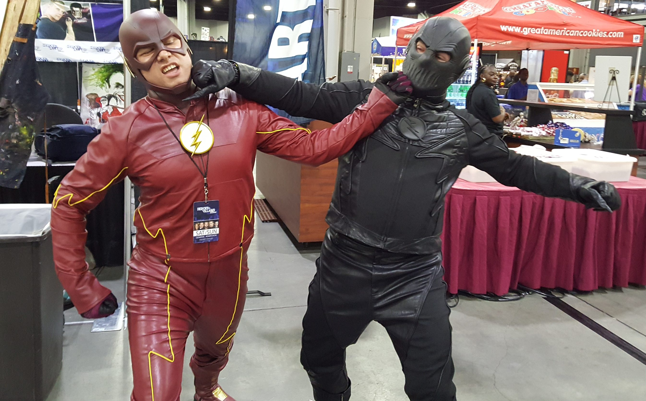 Heroes and Villains Fan Fest HVFF Atlanta Cosplay The Flash