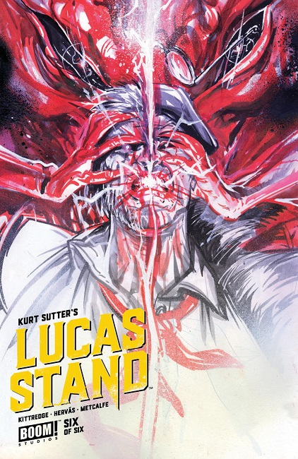 Lucas Stand #6 cover