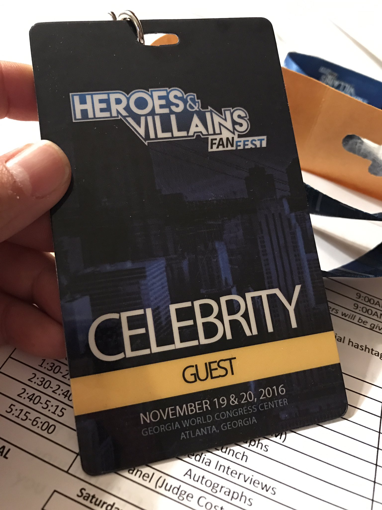 Ming Chen Comic Book Men Michael Rookers Guardians of the Galaxy Heroes and Villains Fan Fest HVFF
