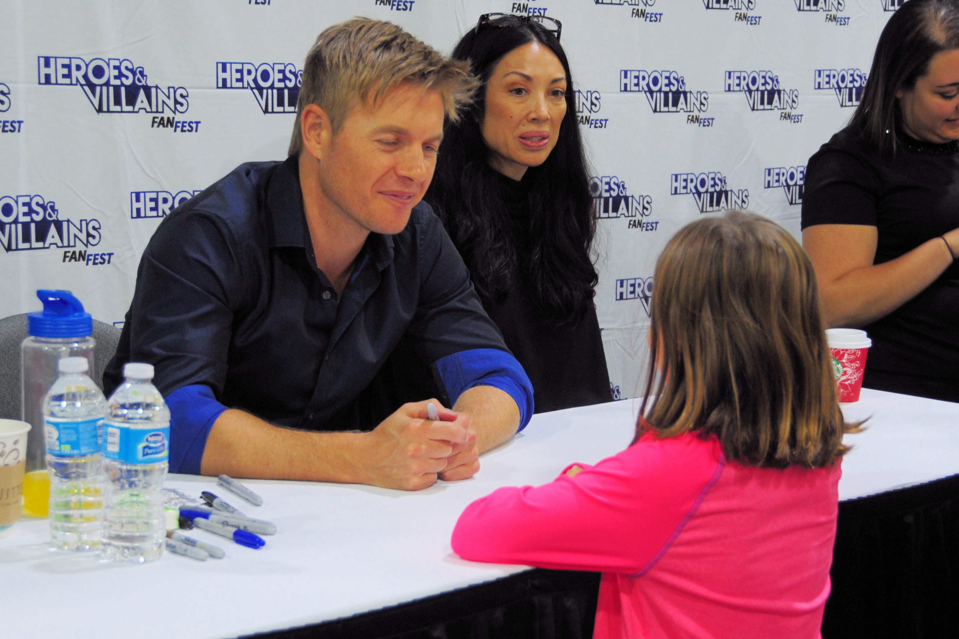 Rick Cosnett Heroes and Villains Fan Fest HVFF The Vampire Diaries The Flash Quantico