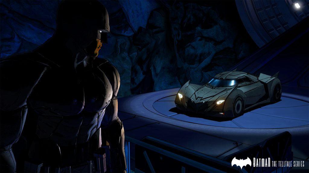 Batman Telltale Batmobile