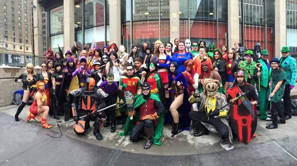 Big Apple Con New York City Comic Con Coslay