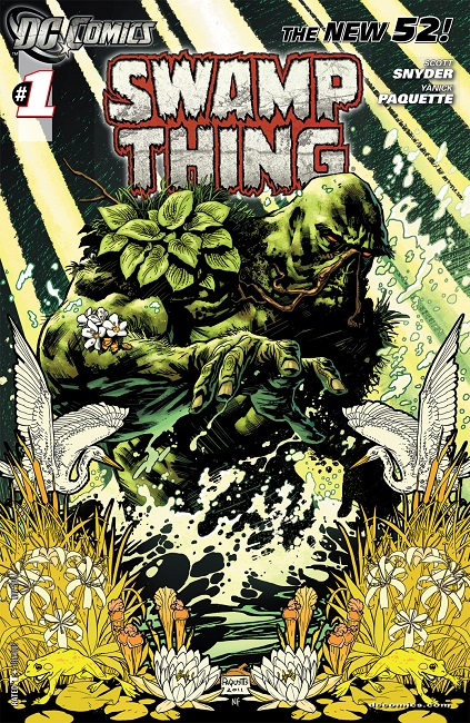 Swamp Thing issue 1 cover