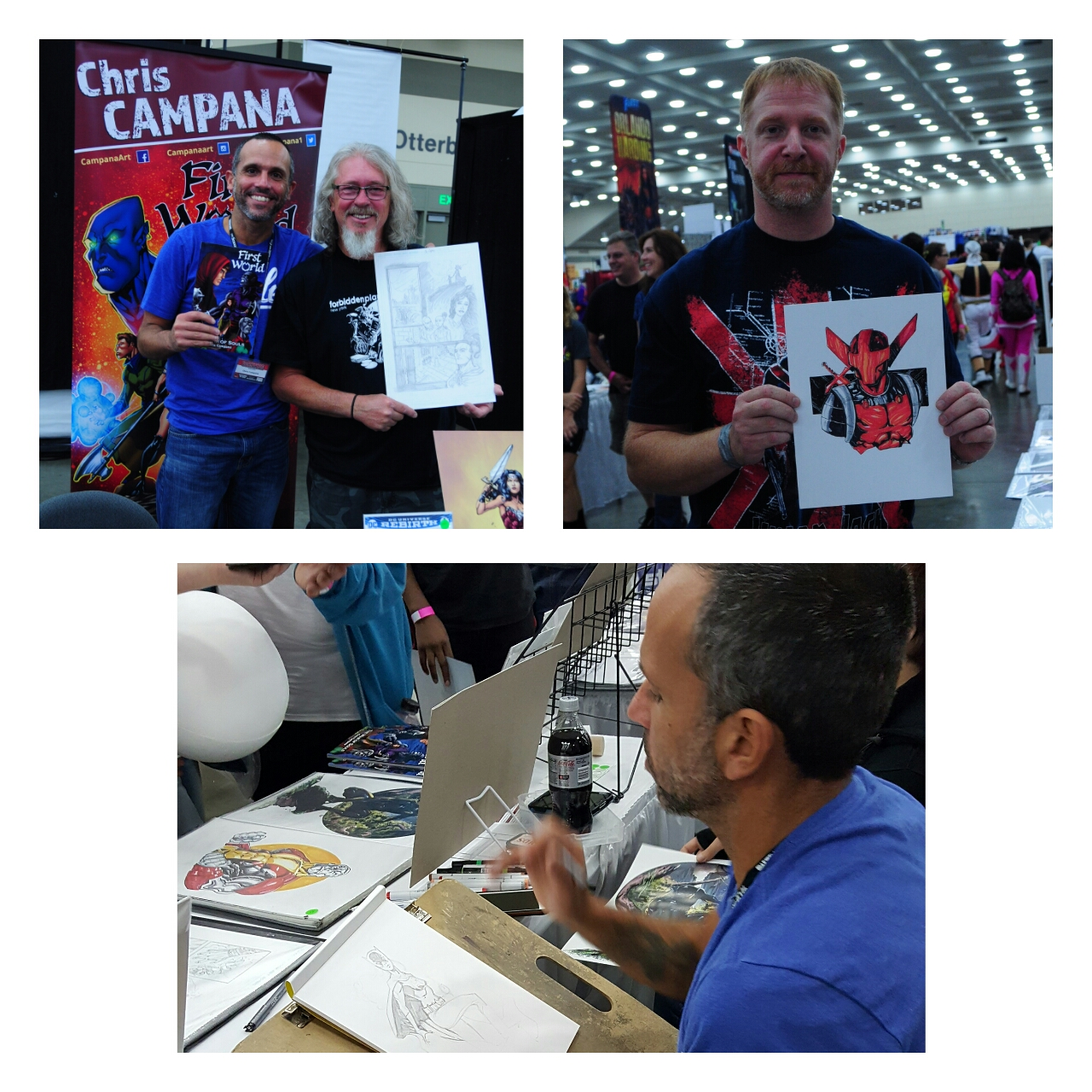 Chris Campana at Baltimore Comic Con 2016