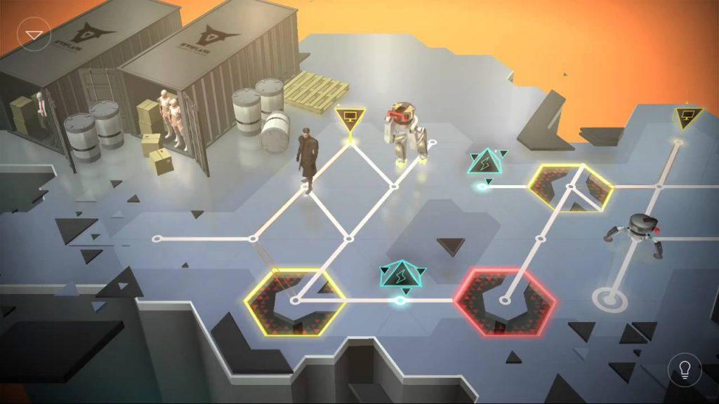 Deus Ex Go Rotating Tiles