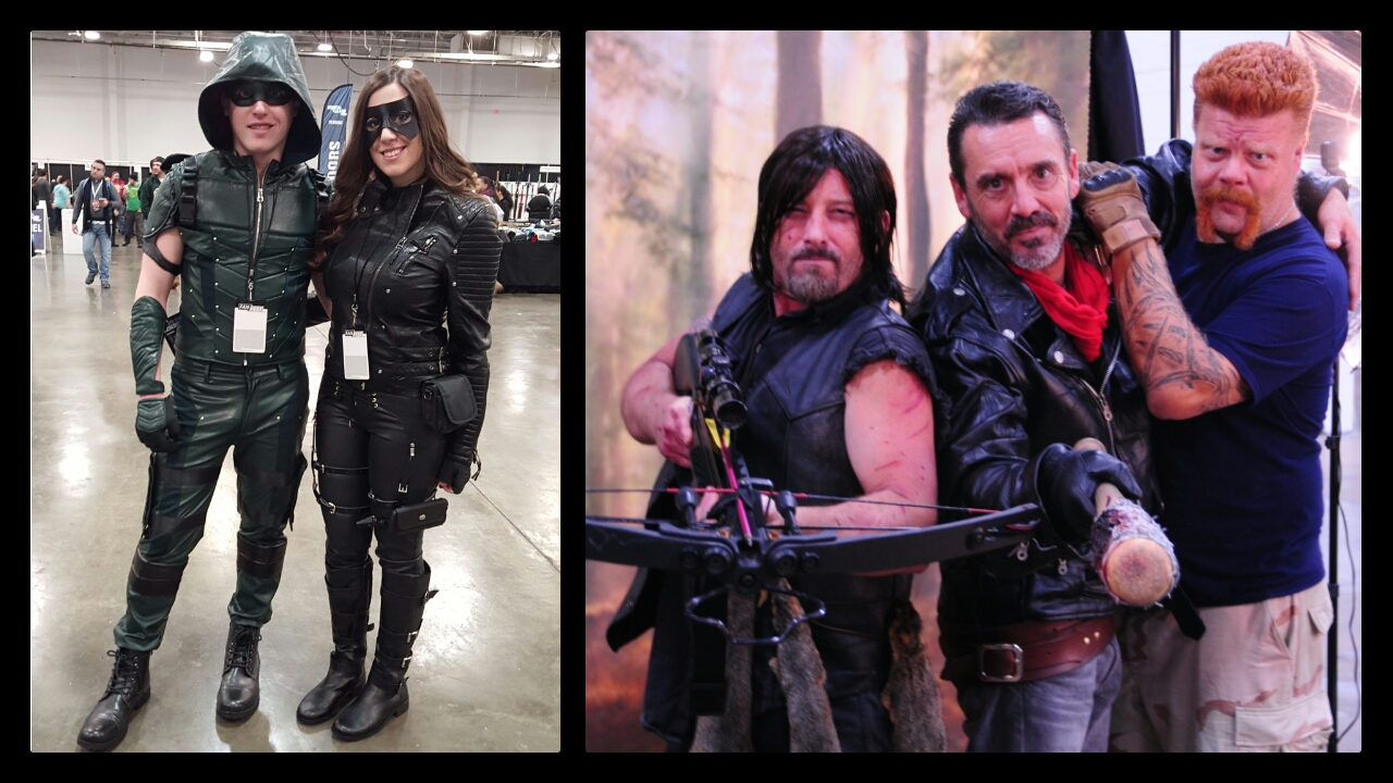 Heroes and Villains Fan Fest, Walker Stalker Con, Cosplay