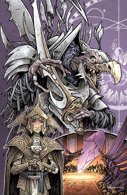 Power of the Dark Crystal alternative cover